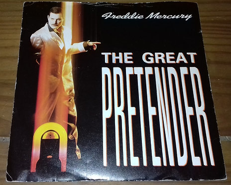 "Freddie Mercury - The Great Pretender (7"", Single, Sil) (Parlophone, Parlophone)"