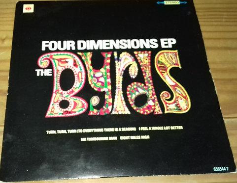 "The Byrds - Four Dimensions EP (7"", EP, RM) (CBS)"