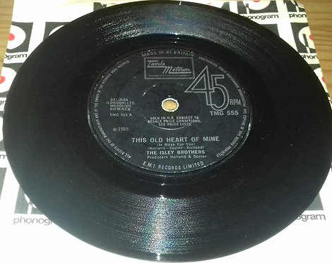 """The Isley Brothers - This Old Heart Of Mine (Is Weak For You) (7"""", Single, RE, S"""