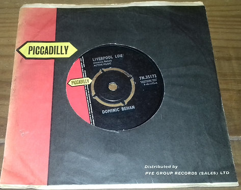"""Dominic Behan - Liverpool Lou (7"""", Single) (Piccadilly)"""