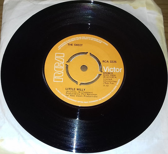 "The Sweet - Little Willy (7"", Single, Kno) (RCA Victor)"