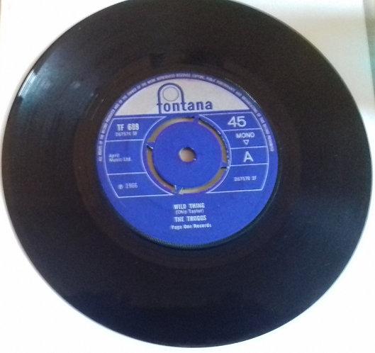 "The Troggs - Wild Thing (7"", Single, 4-p) (Fontana, Fontana)"