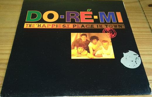 """Do-Ré-Mi - The """"Happiest Place In Town"""" (LP, Album) (Virgin)"""