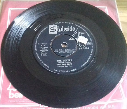 """The Box Tops* - The Letter (7"""", Single, 4 P) (Stateside)"""