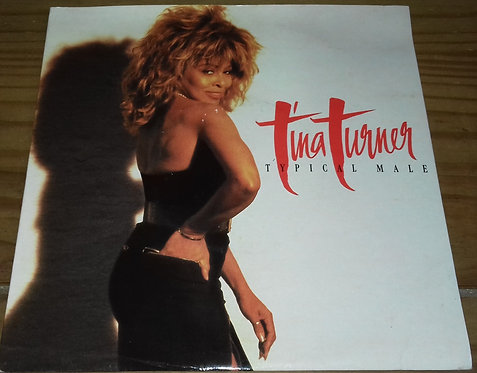 """Tina Turner - Typical Male (7"""", Single) (Capitol Records, Capitol Records)"""