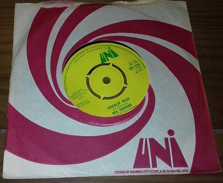 """Neil Diamond - Cracklin' Rosie (7"""", Single) (UNI Records, UNI Records)"""