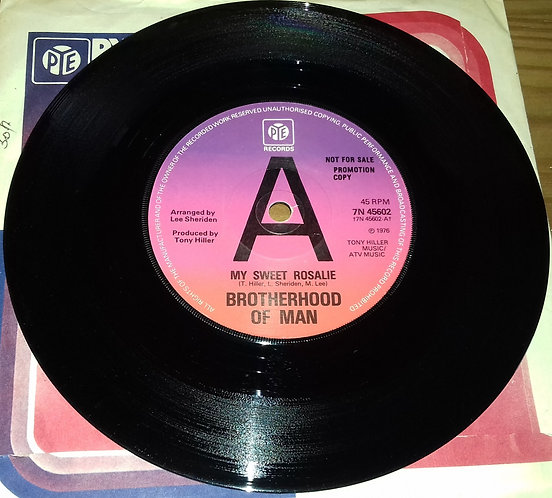 "Brotherhood Of Man - My Sweet Rosalie (7"", Promo) (Pye Records)"
