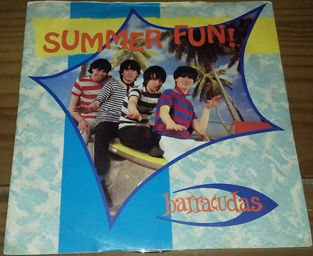 "Barracudas - Summer Fun (7"", Single) (Wipe Out, Zonophone)"