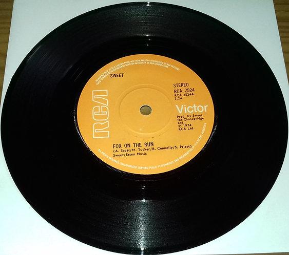 "Sweet* - Fox On The Run (7"", Single, Sol) (RCA Victor)"