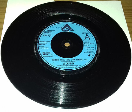"Locksmith - Unlock The Funk / Chinese Funk Song (Far Beyond) (7"", Single) (Arist"