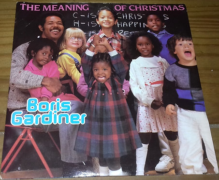 "Boris Gardiner - The Meaning Of Christmas (7"", Single) (Revue Records, Revue Rec"