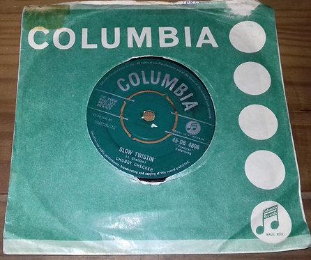 "Chubby Checker - Slow Twistin' (7"", Single) (Columbia)"