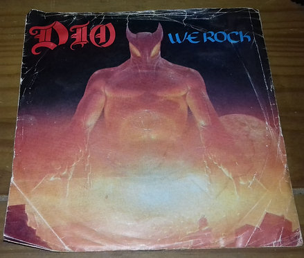 """Dio  - We Rock (7"""", Single) (Vertigo, Vertigo)"""