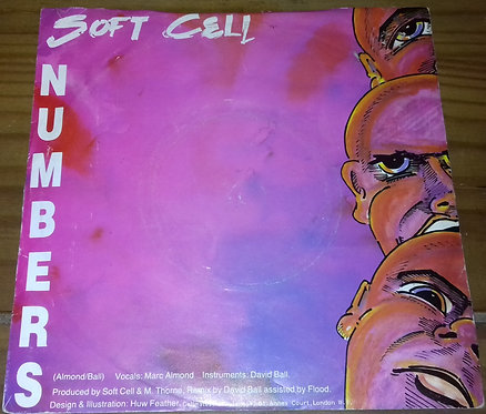 "Soft Cell - Numbers / Barriers (7"", Single, Inj) (Some Bizzare, Some Bizzare)"