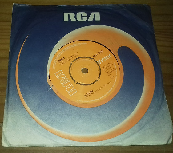 """Sweet* - Action (7"""", Single, Pus) (RCA Victor)"""