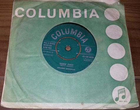 "Chubby Checker - Dancin' Party (7"", Single) (Columbia)"