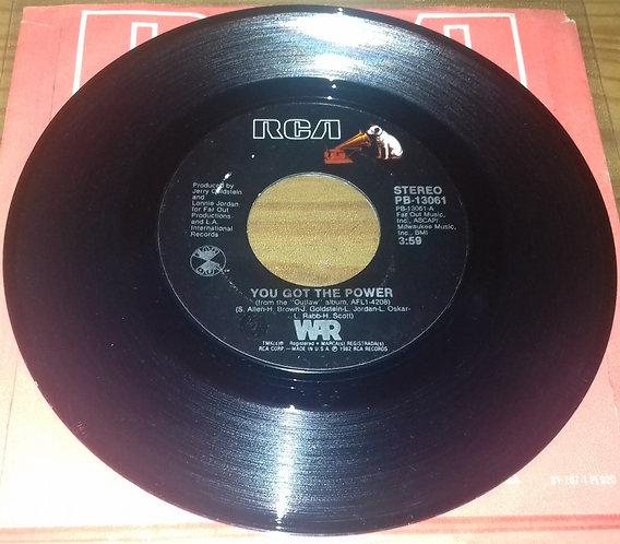 "War - You Got The Power / Cinco De Mayo (7"", Single, Styrene) (RCA)"