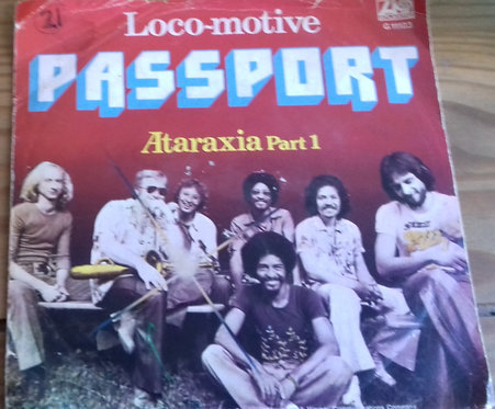 "Passport  - Loco-Motive (7"", Single) (Atlantic)"