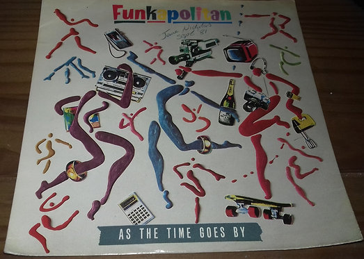 "Funkapolitan - As The Time Goes By (7"", Single, Inj) (London Records)"