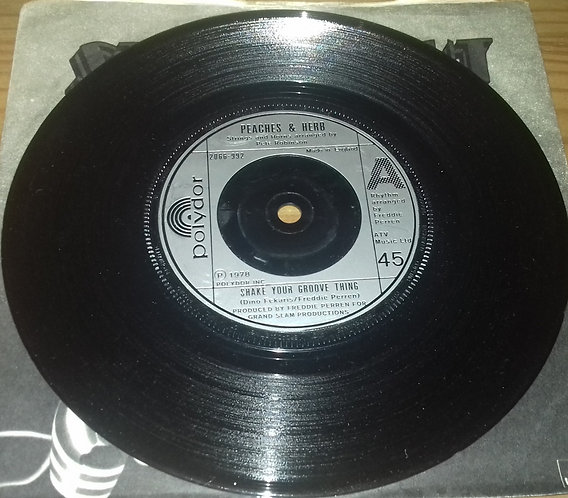 """Peaches & Herb - Shake Your Groove Thing (7"""") (Polydor)"""