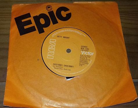 "Betty Wright - Shoo-rah ! Shoo-rah ! (7"", Single, Sol) (RCA Victor)"