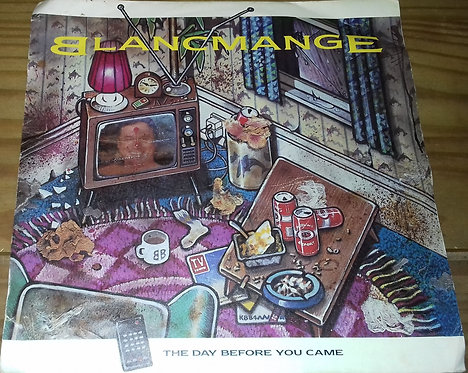 """Blancmange - The Day Before You Came (7"""", Single, Sil) (London Records, London R"""