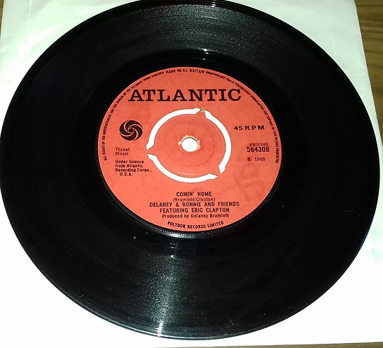 "Delaney & Bonnie & Friends - Comin' Home / Groupie (Superstar) (7"", Pus) (Atlant"