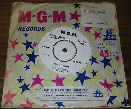 "Bing* & Satchmo  - Muskrat Ramble / Dardanella (7"", Single, Promo) (MGM Reco"