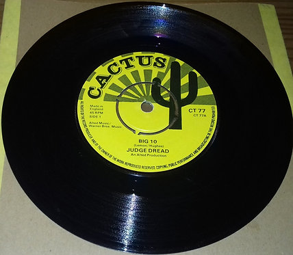 "Judge Dread / Dread And I - Big 10 / Rasta Chat (7"", Single) (Cactus)"