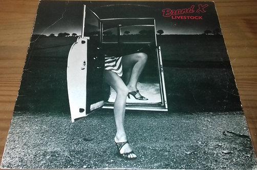 Brand X  - Livestock (LP, Album) (Charisma)