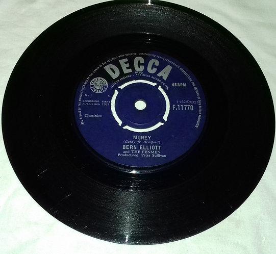 "Bern Elliott And The Fenmen - Money (7"", Single) (Decca)"