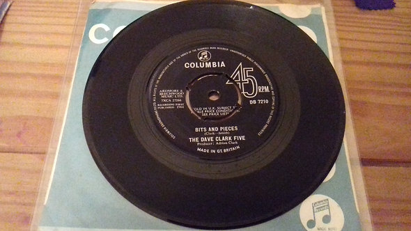 """The Dave Clark Five - Bits And Pieces (7"""", Single) (Columbia)"""