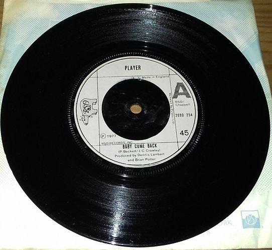 "Player  - Baby Come Back (7"", Single) (RSO)"