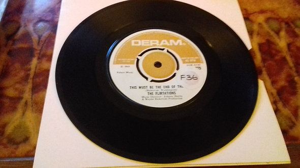 "The Flirtations - Give Me Love (7"", Single) (Deram)"