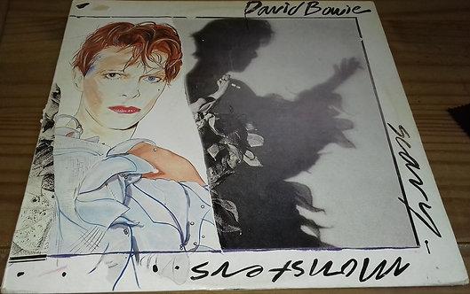 David Bowie - Scary Monsters (LP, Album) (RCA, RCA)