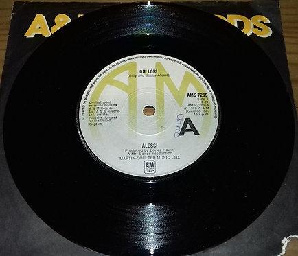 """Alessi - Oh, Lori (7"""", Single) (A&M Records)"""
