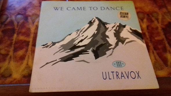 "Ultravox - We Came To Dance (7"", Single, Clear Vinyl) (Chrysalis)"