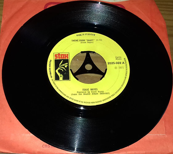 """Isaac Hayes - Theme From Shaft (7"""", Single, Lar) (Stax)"""