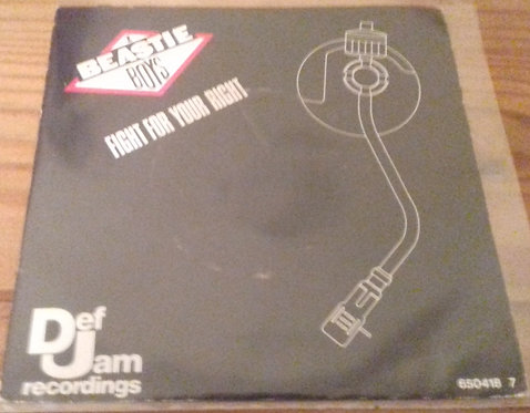 """Beastie Boys - Fight For Your Right (7"""", Single) (Def Jam Recordings, Def Jam Re"""