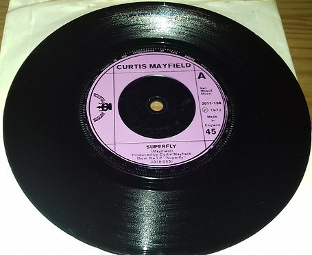 "Curtis Mayfield - Superfly (7"", Pla) (Buddah Records)"
