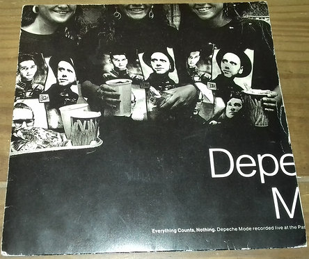 """Depeche Mode - Everything Counts, Nothing (7"""", Single) (Mute)"""