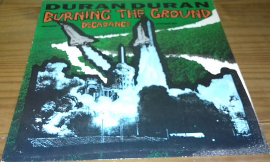 "Duran Duran - Burning The Ground (12"", MP) (EMI, EMI)"
