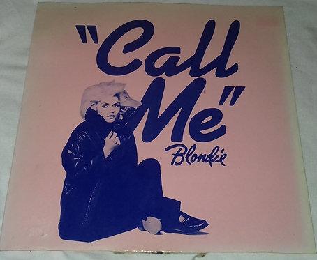 """Blondie - Call Me (7"""", Single, Blu) (Chrysalis)"""