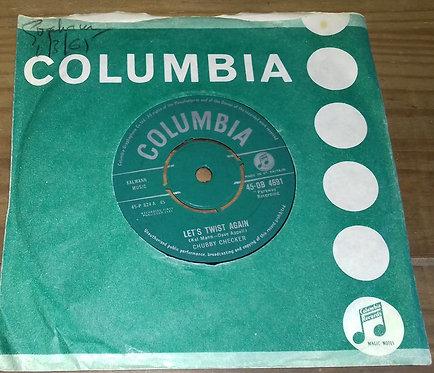 "Chubby Checker - Let's Twist Again (7"", Single) (Columbia)"