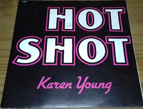 """Karen Young - Hot Shot (7"""", Single) (Atlantic, Atlantic)"""