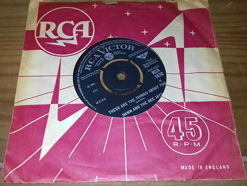 """Dawn And The Dee Jays* - These Are Things About You (7"""", Single) (RCA Victor)"""