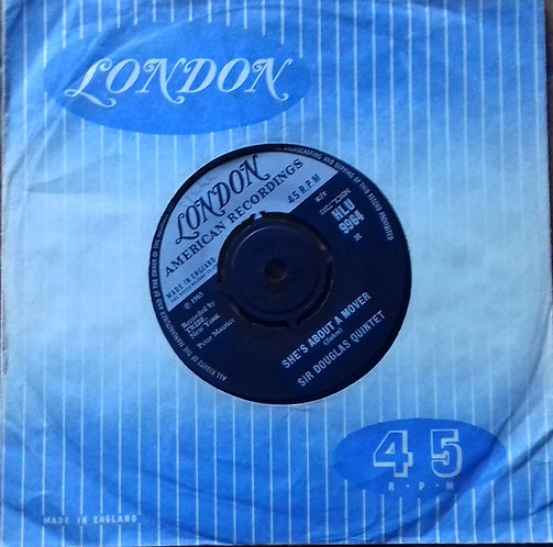 """Sir Douglas Quintet – She's About A Mover 7"""" Single"""