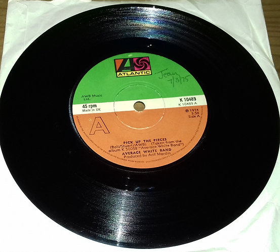 "Average White Band - Pick Up The Pieces (7"", Single) (Atlantic)"