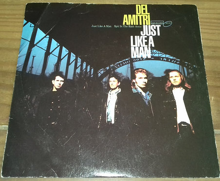 """Del Amitri - Just Like A Man (7"""") (A&M Records)"""