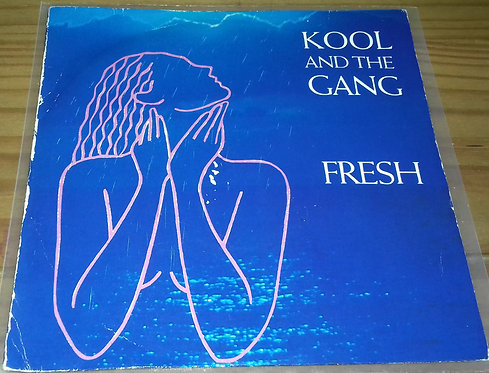 "Kool And The Gang* - Fresh (7"", Single, Blu) (De-Lite Records)"